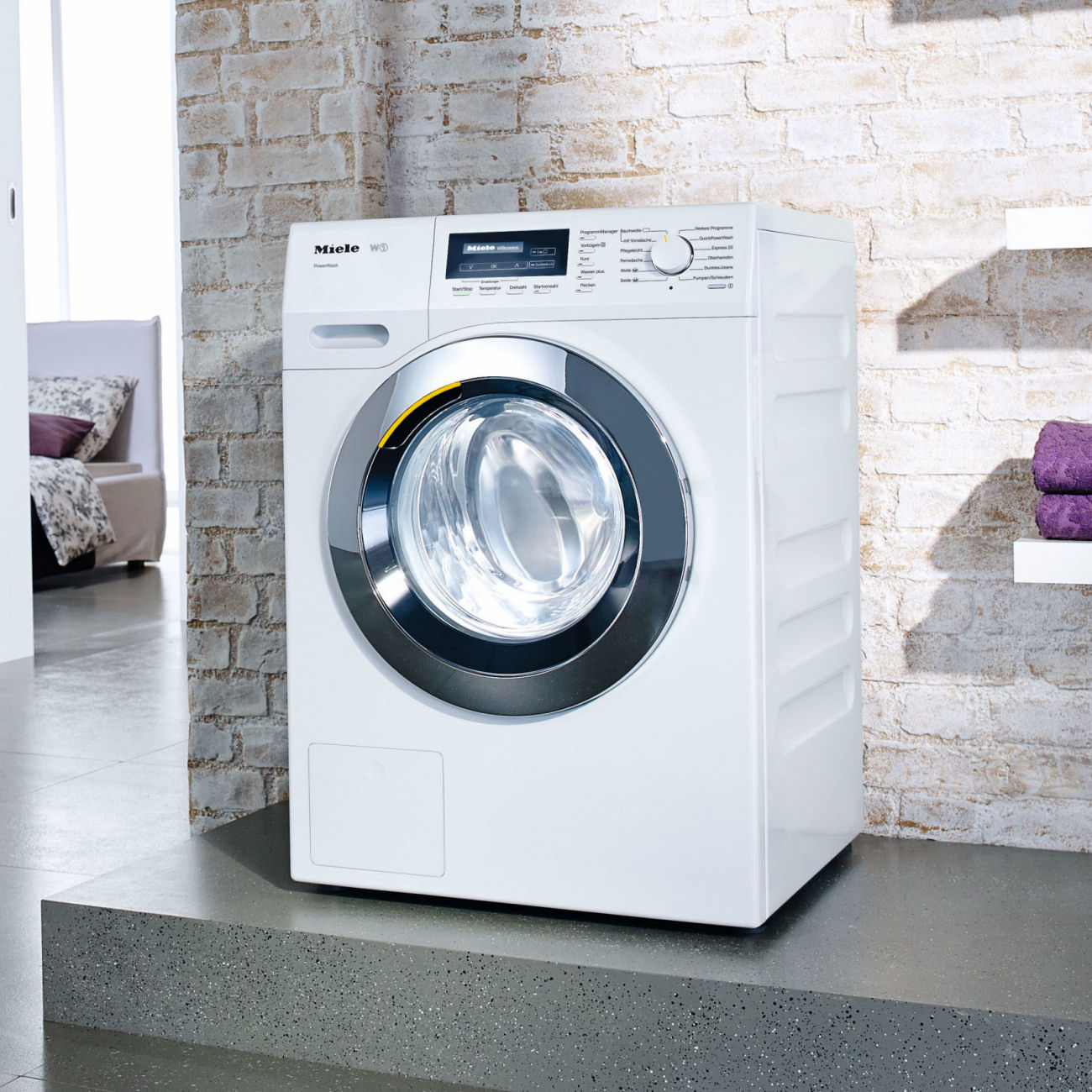 miele laundry appliances. Black Bedroom Furniture Sets. Home Design Ideas